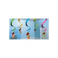 Hula Girl SUSPENSION Decoupes A Themes A Pendre Et Suspendre
