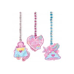 PRINCESSE : 3 suspensions 76.2 cm Suspensions Decorations