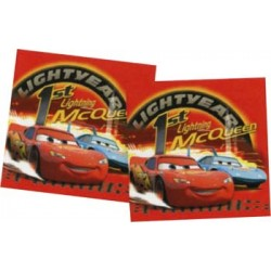 Car's serviettes papier 23 cm*23 cm Cars Le Theme