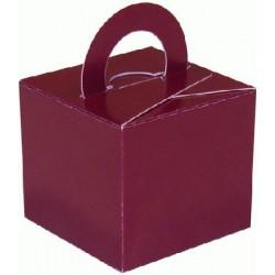 Bordeaux boite bouquets ballons et centres table et cadeaux, Boites Décoration Ø Lester Pour Bouquets Ballons, Centres Table...