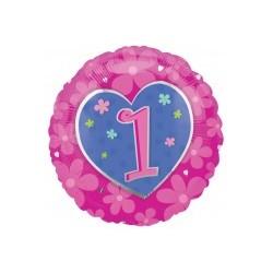 1er anniversaire rose