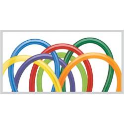 100 ballons qualatex 260 couleurs carnaval