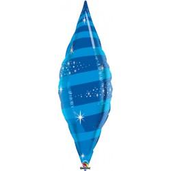tapper swirl bleu 96 cm de haut