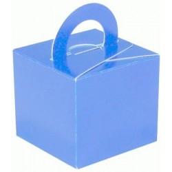 bleu ciel boite bouquets ballons et centres table et cadeaux,