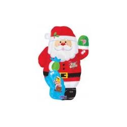 Père Noël saluant