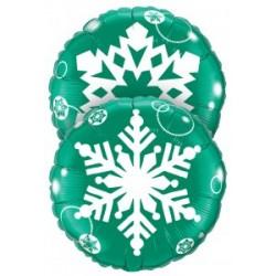 Flocons vert SEMPERTEX Noël