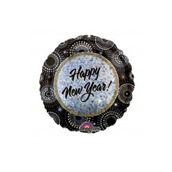 HAPPY NEW YEAR ROND BALLON