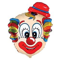 clown chapeau rond mylar Mini Amis Des Enfants