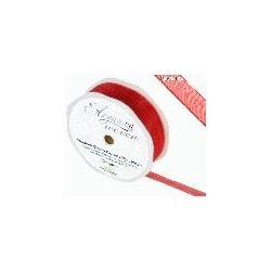 Ruban organza rouge 10mm*20 m