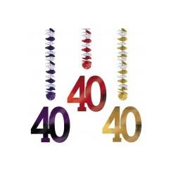 40 : 3 suspensions 76.2 cm