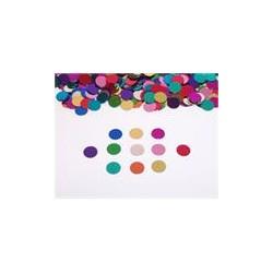 confettis métal rond multicouleurs 14grs