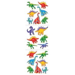 stickers dinosaures 1 feuille