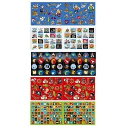 stickers pirates 10 feuilles 600 stickers Stickers