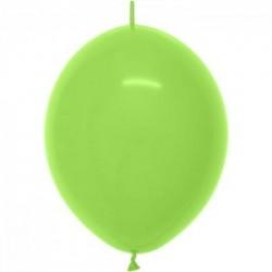 DOUBLE ATTACHE 30 cm opaque vert lime 031