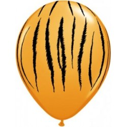 peau de tigre imprimé ballons baudruche Les Ballons De Decorations