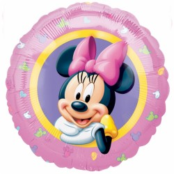 portrait de Minnie ballon mylar 45 cm