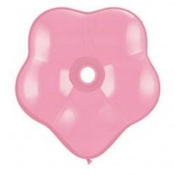 qualatex géo blossom 5 inch couleur paste rose QUALATEX Geo Blossom 15 Cm Diamêtre