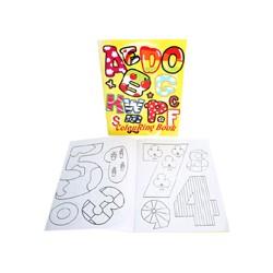 Livre coloriage avec stickers 10 pages Coloriages Les Crayons La Peinture
