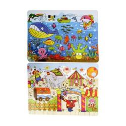 puzzle 21*28 cm 12 pieces*2 Petits Jouets