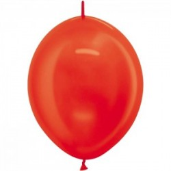 Link o loon 30 cm métal rouge