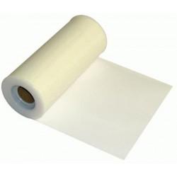 tulle ivoire 15cm *22.75 m Tulle 15 Cm De Large