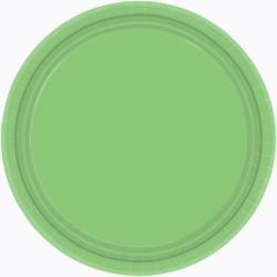Assiettes carton 22,9 cm anis paquet de 855015-53 AMSCAN ANIS KIWI
