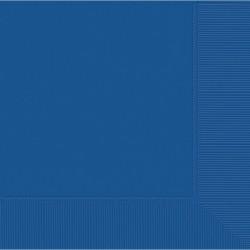 Serviettes bleu royal 40*40 3pli52220-105 AMSCAN BLEU FONCE