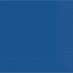 Serviettes bleu royal 33*33 3pli51220-105 AMSCAN BLEU FONCE