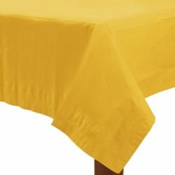 Nappe papier 140*280 jaune