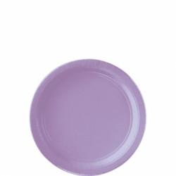 Assiettes petites carton 17,8 cm lilas