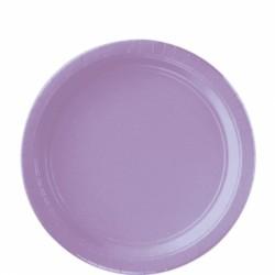 Assiettes carton 22,9 cm lilas