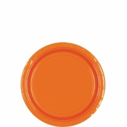 Assiettes cocktail carton 17,8 cm orange54015-05 ORANGE