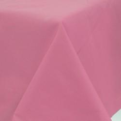 Nappe papier 140*280 rose ROSE