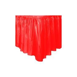 1 juppe plastique pour buffets 74cm*430cm