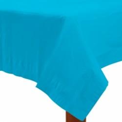 Nappe papier 140*280 turquoise