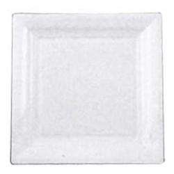 12 assiettes carré blanche 18cm*18cm