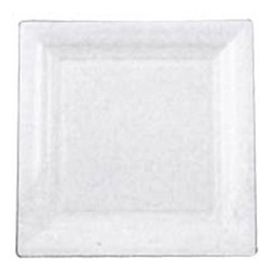 ASSIETTES CARRES 18*18 AMSCAN Assiettes Plastique Carres