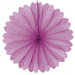 Eventail papier 50 cm lilas