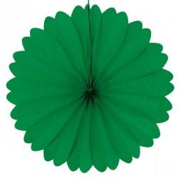 Eventail papier 50 cm vert