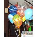 livraison 40 ballons gonflés hélium
