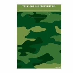 sachets pour confiserie ou petits jouets camouflage