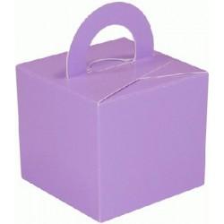 Lilas boite bouquets ballons et centres table et cadeaux,