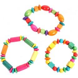 3 bracelets bois