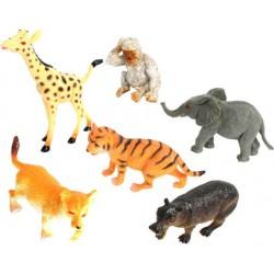 6 animaux de la jungle 7/9cm
