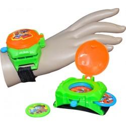 4 montres lance disque