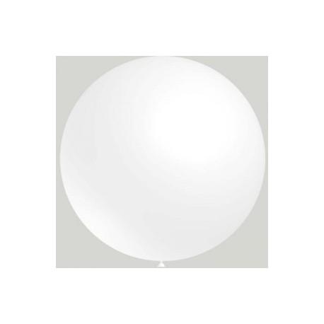 ballons 90 cm de diamètre blanc