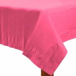 Nappe papier 140*280 rose vif
