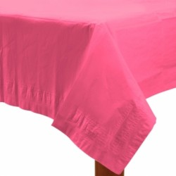 Nappe papier 140*280 rose vif ROSE VIF