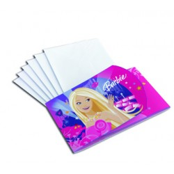 INVITATIONS BARBIE GLAM Barbie