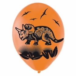 6 ballons préhistoire 27.5cm